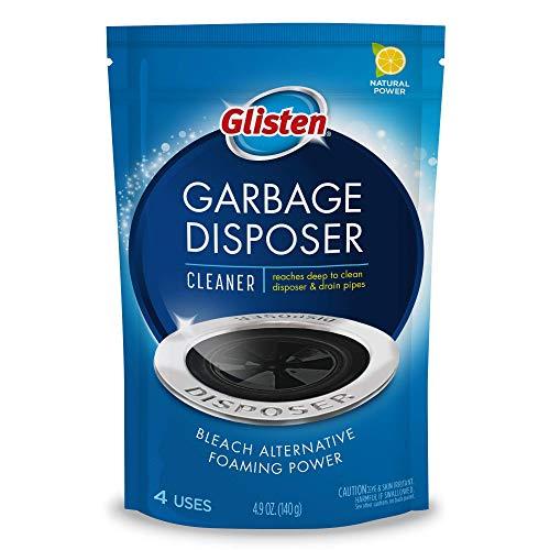 Glisten Disposer Care Zitrone Küchenabfallzerkleinerer Reiniger (4 Anwendungen)