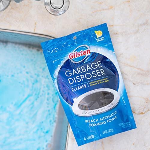 Glisten Disposer Care Zitrone Küchenabfallzerkleinerer Reiniger (4 Anwendungen) - 2