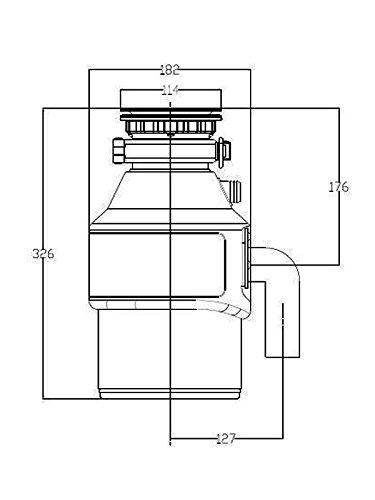 ForHome® ZeroTrash 400 Küchenabfallentsorger - 3