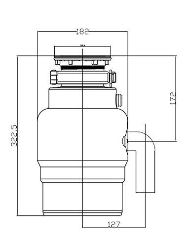 ForHome® ZeroTrash 600 Küchenabfallentsorger - 3