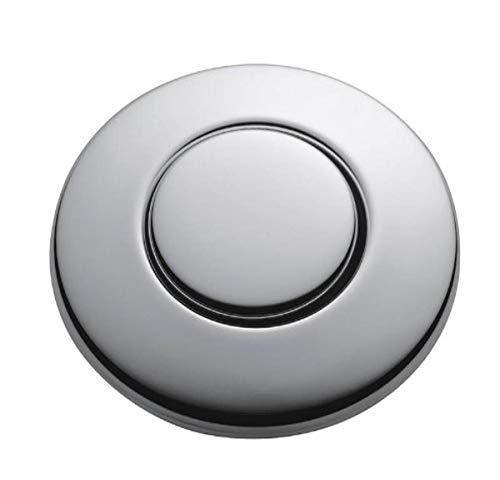 InSinkErator Blende chrom für pneumatischen Drucktaster / Balgtaster - SinkTop Switch Push Button STC-CHRM