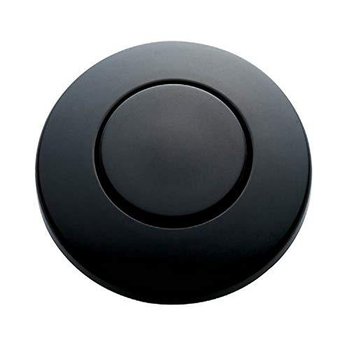 InSinkErator Blende matt-schwarz für pneumatischen Drucktaster / Balgtaster - SinkTop Switch Push Button STC-MTBLK