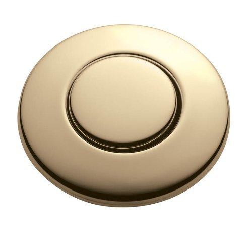 InSinkErator Blende French Gold für pneumatischen Drucktaster / Balgtaster - SinkTop Switch Push Button STC-FG