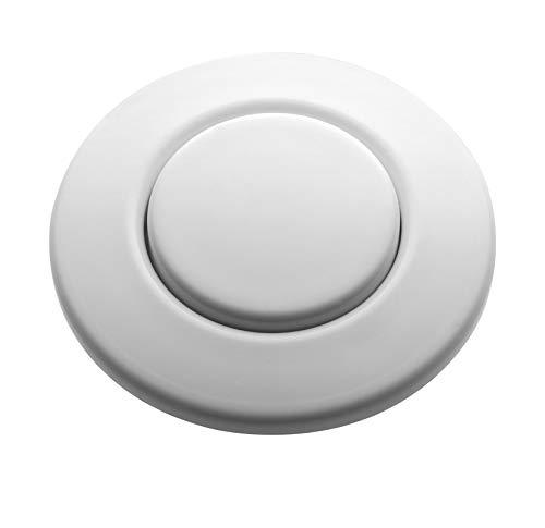 InSinkErator Blende weiß für pneumatischen Drucktaster / Balgtaster - SinkTop Switch Push Button STC-WHT