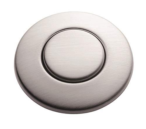 InSinkErator Blende Satin Nickel für pneumatischen Drucktaster / Balgtaster - SinkTop Switch Push Button STC-SN