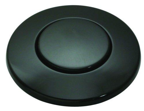 InSinkErator Blende schwarz für pneumatischen Drucktaster / Balgtaster - SinkTop Switch Push Button STC-BLK