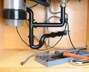 Material zur Montage eines Küchenabfallzerkleinerers